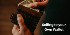 selling to your own wallet