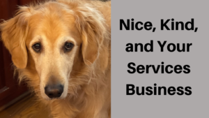 Nice, Kind, and Your Services Business